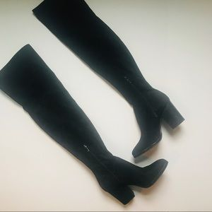 Marc Fisher Arrine Over-the-Knee Boots, Sz 7